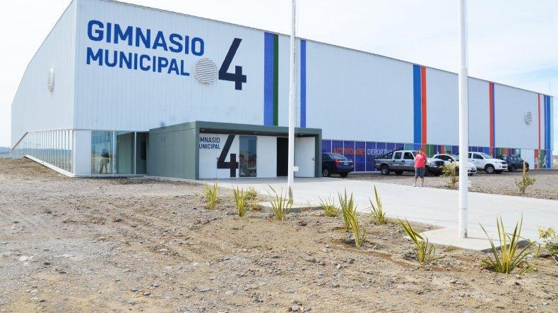 Comodoro Rivadavia tiene el gimnasio más grande de la provincia