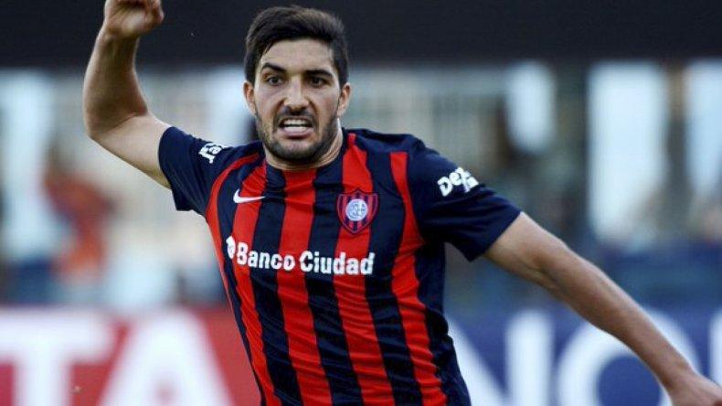 Nicolás Blandi será esta noche el delantero de área cuando San Lorenzo visite al Chapecoense de Brasil.
