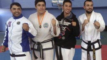 La agrupación de taekwondo comodorense se trae importantes logros de Perito Moreno.
