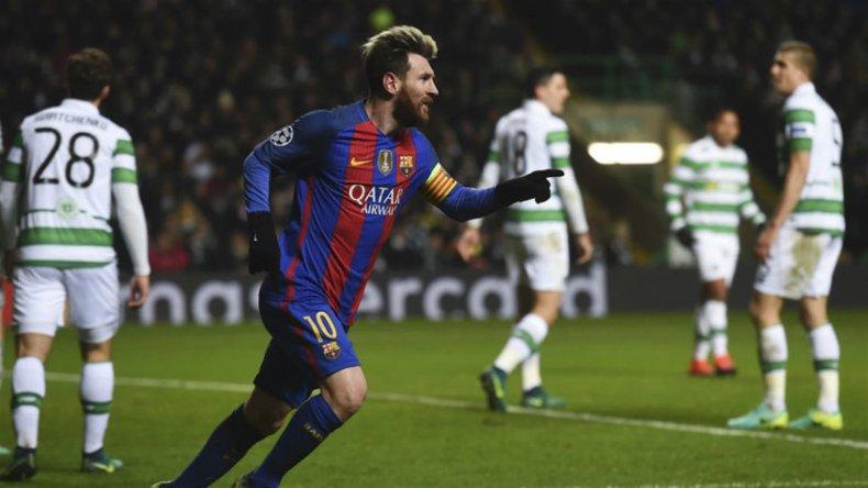 Lionel Messi llegó a los 501 goles en 593 partidos con la casaca de Barcelona.