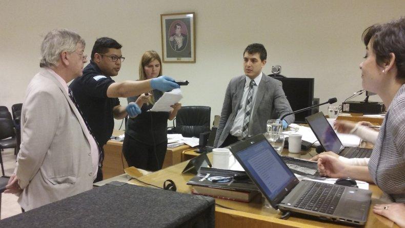 Integrantes de la policía declararon ayer en el marco de la causa contra los inspectores de Tránsito.