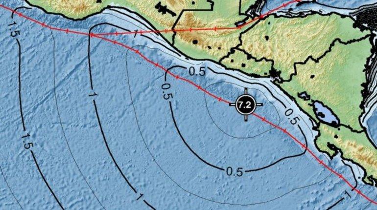 Alerta de tsunami en Centroamérica