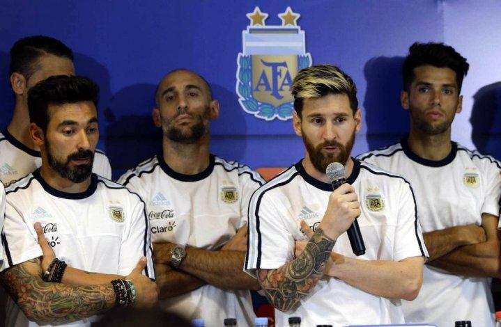 Messi rompió el silencio stampa