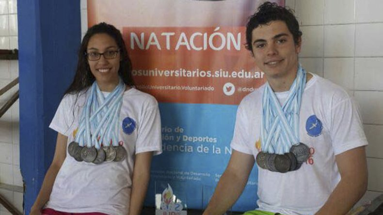 Magalí Almonacid y Maximiliano Biñckoski clasificaron a la etapa nacional de los Juegos.