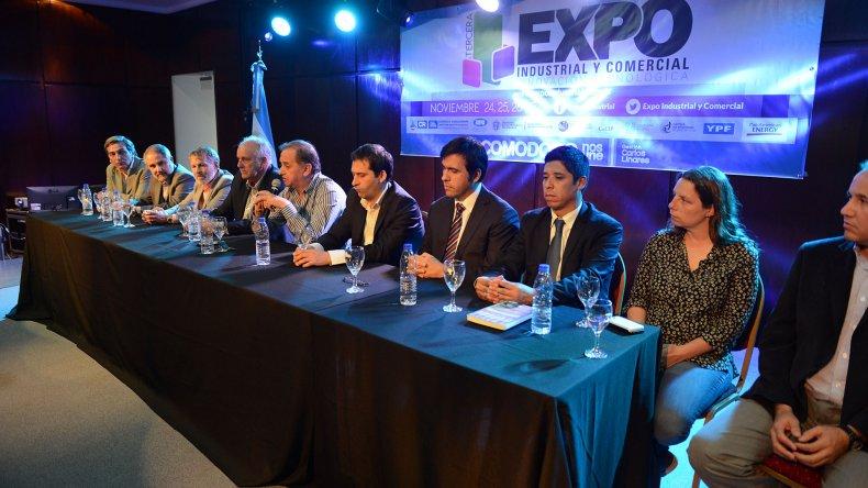 Se inauguró oficialmente la III Expo Industrial