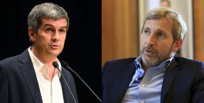Peña y Frigerio defendieron la polémica reforma política que propone el macrismo.