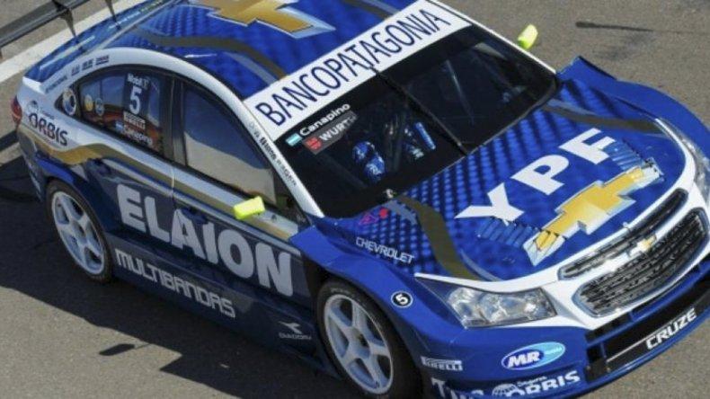 Agustín Canapino irá este fin de semana en busca del título en el Súper TC2000.
