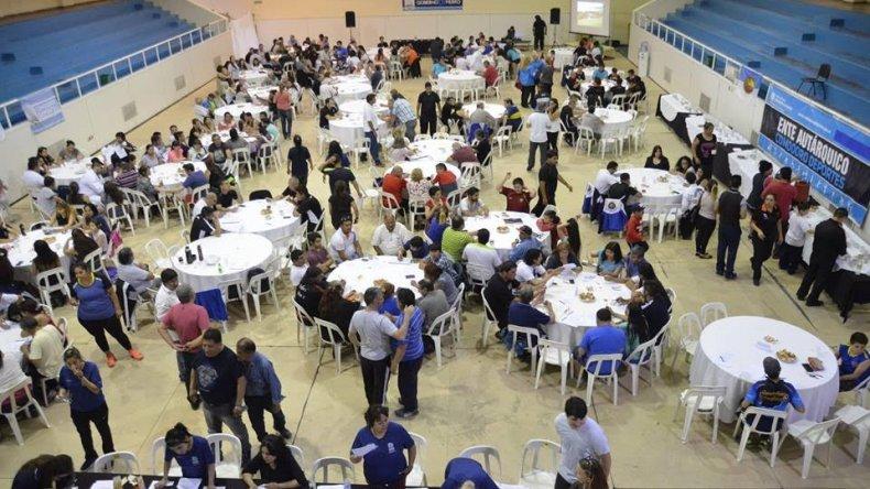 Importante participación tuvo el Plenario que llevó a cabo el ente Comodoro Deportes en el gimnasio municipal 1.