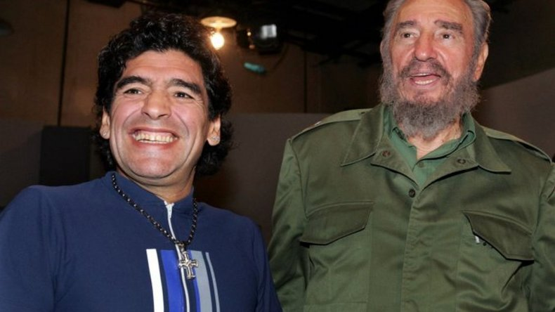 La entrevista de Maradona a Fidel Castro