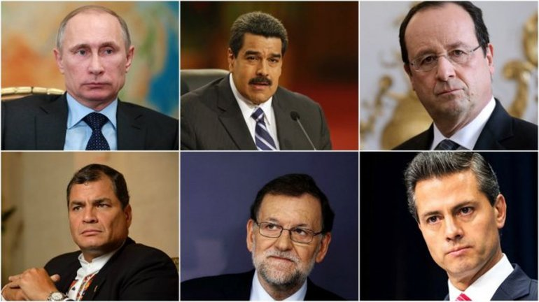 Los líderes del mundo despiden a Fidel Castro