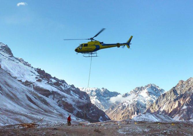 Los rescates en helicópteros tendrán un costo que dependerá de la cantidad de tiempo que demanden.