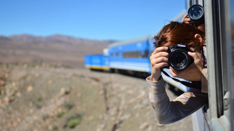 La tarifa promocional para residentes argentinos que combina el tren y la vuelta a la ciudad de Salta en bus es de $ 1.500.