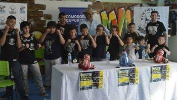 Dar rodaje a la cantera y promover la actividad, con esa premisa Gym Fight Club concretó el 2° Torneo Amateurs Integrativo en el municipal 1.