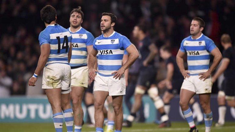La selección argentina de rugby no pudo con Inglaterra y se complica de cara al sorteo de la próxima Copa del Mundo.