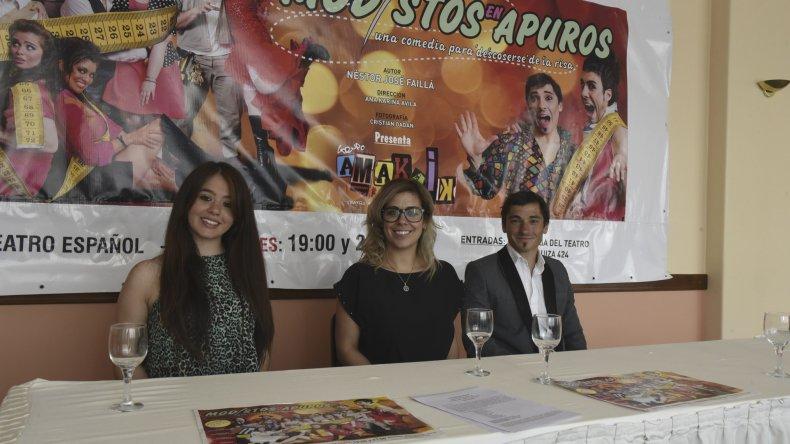 Actores comodorenses estrenarán una nueva obra en el Teatro Español durante diciembre.