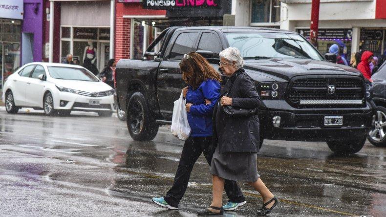 Llovió 11 milímetros durante las últimas 24 horas en Comodoro