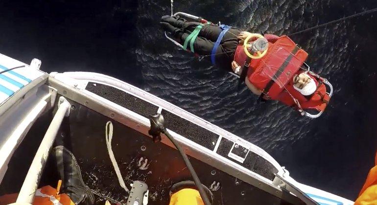 Prefectura evacuó a tripulante de un buque pesquero