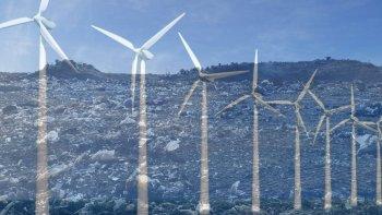 el actual basural podria ser un parque eolico