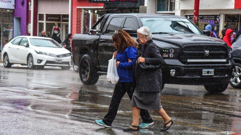 Con la lluvia llegó el alivio tras el intenso calor
