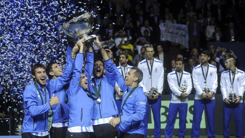Toda Argentina disfruta de la conquista mientras atrás lo sufre el equipo de Croacia.