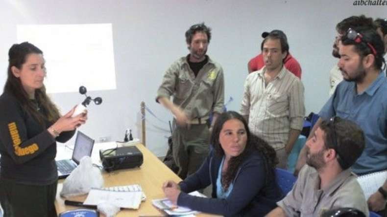 Combatientes de incendios forestales fueron capacitados en Meteorología e Indice de Peligrosidad de Incendios.