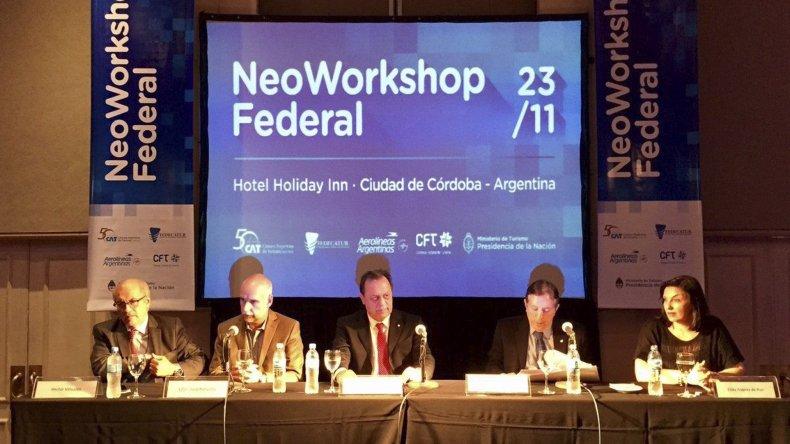 El Neoworkshop tuvo capacitaciones y como punto central rondas de negocios pre-programadas de 15 minutos.