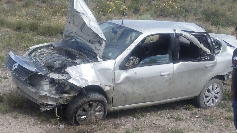Sufrió lesiones al salir despedido  durante un vuelco en Garayalde