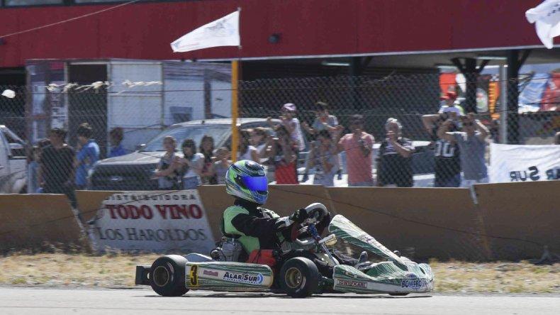 Franco Cárdenas cerró la temporada de la mejor manera.