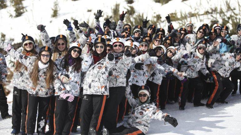 San Carlos de Bariloche es el otro punto de atracción para los estudiantes secundarios.