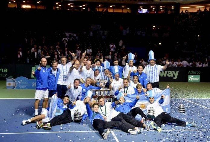 ¿Cuándo vuelve el equipo argentino campeón de la Copa Davis?
