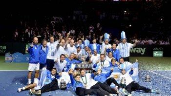 ¿cuando vuelve el equipo argentino campeon de la copa davis?