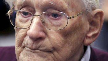 El condenado es Oskar Gröning, un nonagenario conocido como el contable de Auschwitz.