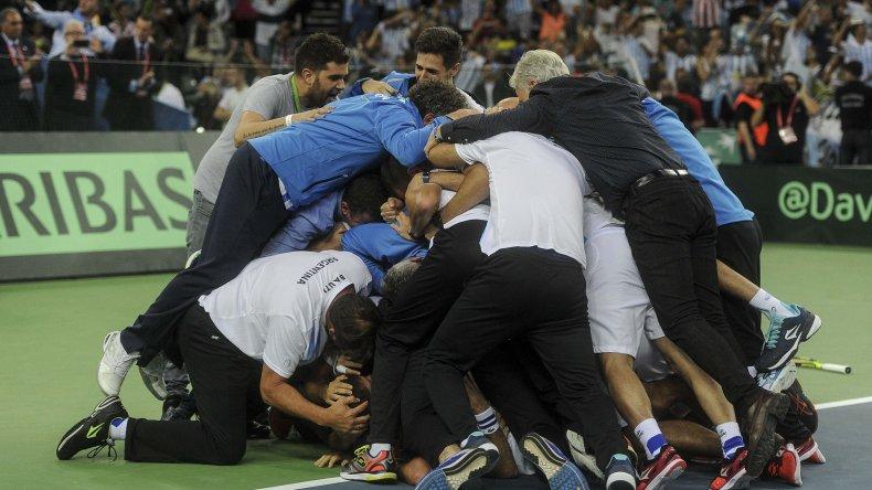 Luego del triunfo de Delbonis sobre el croata Ivo Karlovic