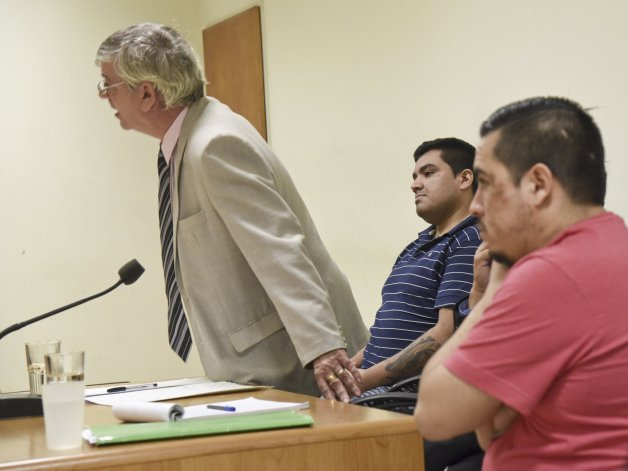 La Fiscalía hoy pedirá que Facundo Garbarino y Mauro Cárdenas -foto- sean declarados culpables de extorsión y robo armado.