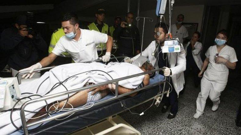 El futbolista brasileño Alan Ruschel fue el primer superviviente confirmado