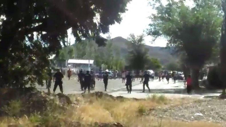 Así fueron los disturbios por los que se suspendió el partido entre Laprida y Ciudadela
