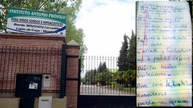 El crudo testimonio de una de las víctimas de abuso en Mendoza