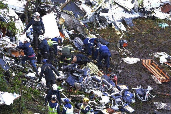El accidente de avión del Chapecoense en Colombia, en imágenes