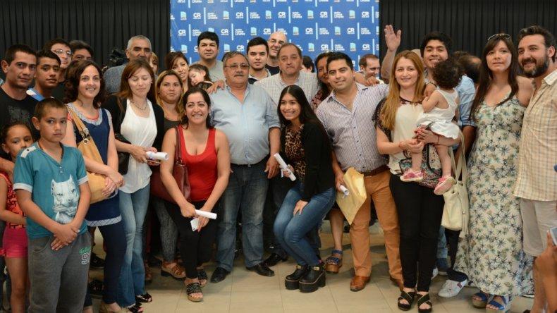 El municipio entregó lotes a 170 familias