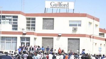 el apoderado de guilford presento una nueva propuesta a los trabajadores
