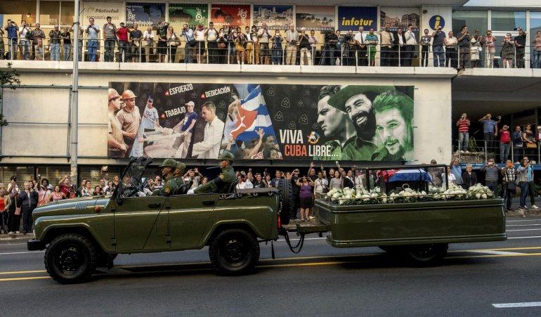 La caravana partió desde La Habana en un periplo de cuatro días.