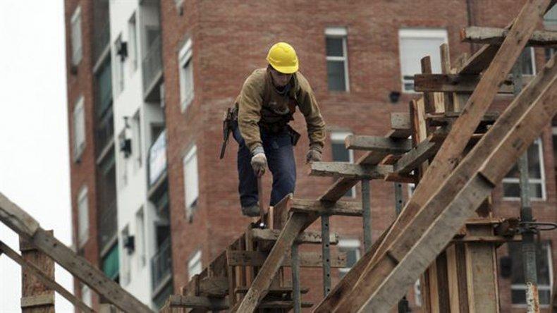 El INDEC dio datos sobre la actividad en la construcción.