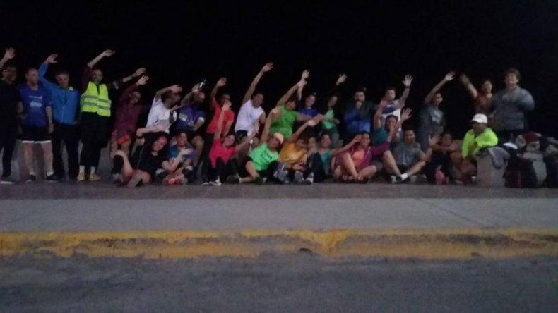Más de 40 grupos de running entrenan en las calles de Comodoro Rivadavia