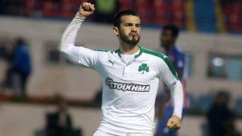 mira el golazo que marco lucas villafanez en el futbol griego