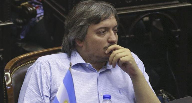 El diputado nacional Máximo Kirchner se refirió a la actualidad política.
