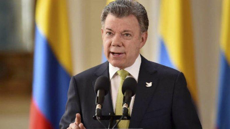 El Presidente colombiano insiste con acelerar la aplicación del pacto de paz.