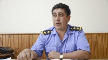 El jefe de Unidad Regional de Policía, Humberto Lienan, dispuso un oficial jefe para que coordine la seguridad del recinto de la Oficina Judicial y el traslado de detenidos.