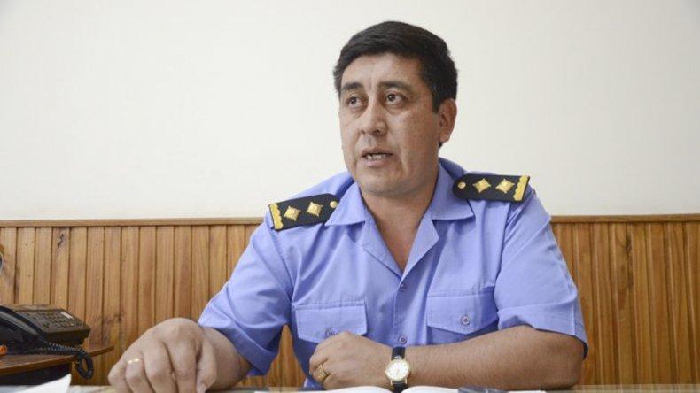 El jefe de Unidad Regional de Policía