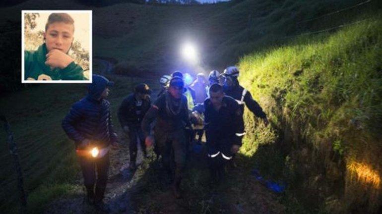 Encontraron al niño ángel que ayudó en el rescate