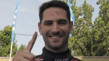 Facundo Ardusso se quedó ayer con el mejor tiempo del TC en el autódromo de La Plata.
